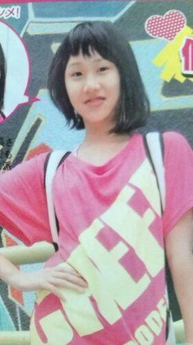 森本慎太郎の妹森本夏音が読者モデルの頃の写真
